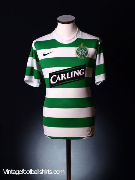 2007-08 Celtic Home Shirt M