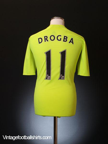2007-08 Chelsea Away Shirt Drogba #11 M