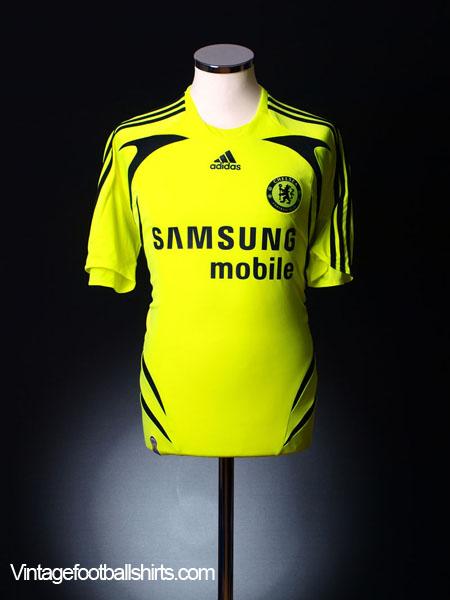 2007-08 Chelsea Away Shirt L