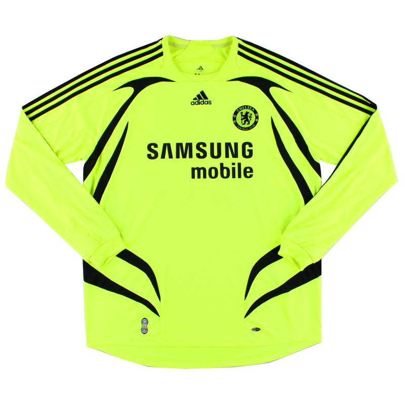 2007-08 Chelsea Away Shirt L/S XL - 697776