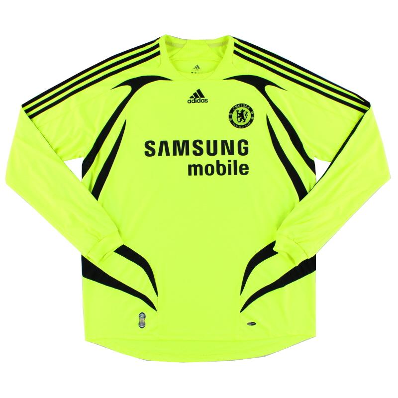 2007-08 Chelsea Away Shirt L/S S - 697776