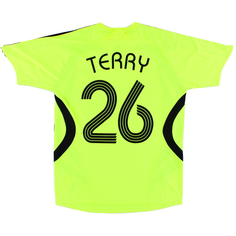 2007-08 Chelsea Away Shirt Terry #26 S