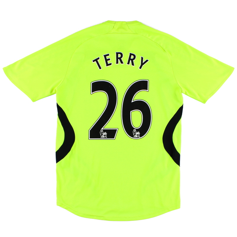 2007-08 Chelsea Away Shirt Terry #26 S - 697777