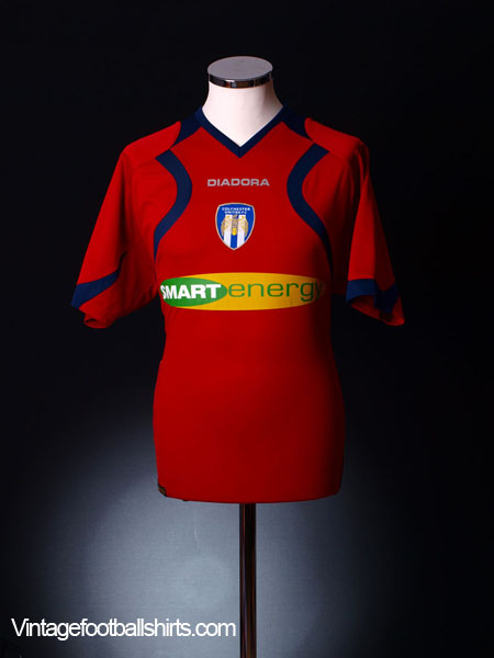 2007-08 Colchester Away Shirt *As new* M