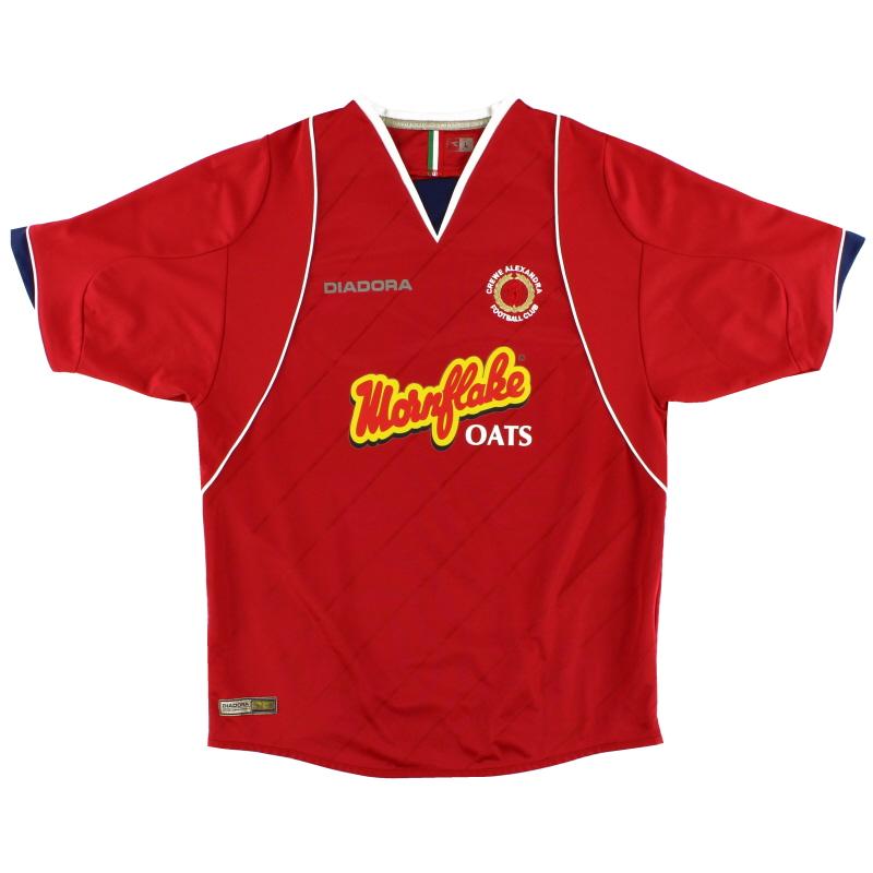 2007-08 Crewe Alexandra Home Shirt L