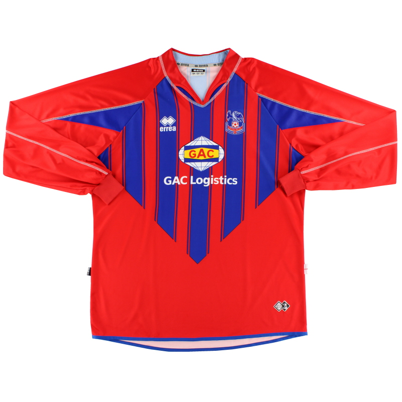 2007-08 Crystal Palace Home Shirt L/S 4XL