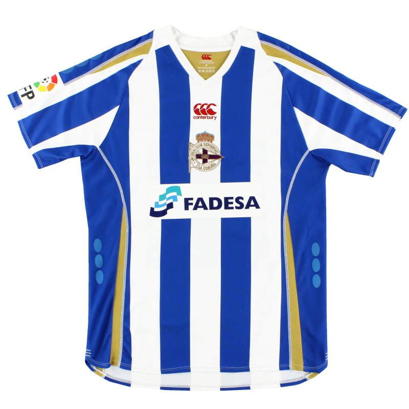 2007-08 Deportivo Home Shirt XL