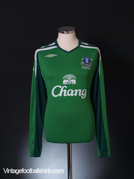 2007-08 Everton Goalkeeper Shirt XL