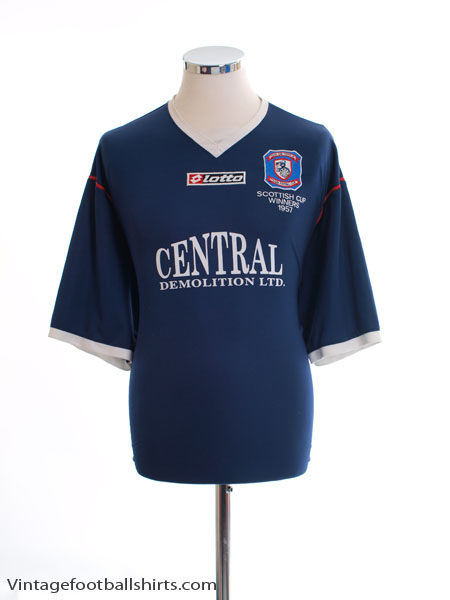 2007-08 Falkirk Home Shirt XL