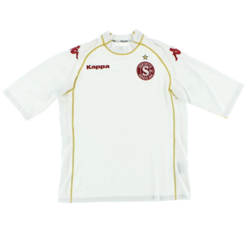 2007-08 Servette Away Shirt M