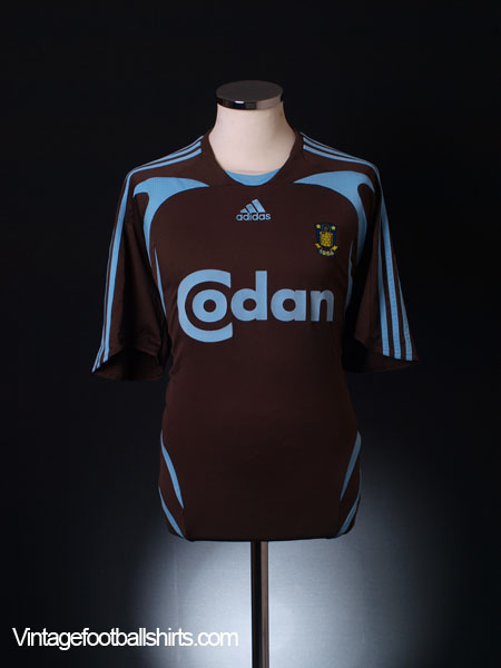 2007-08 FC Brondby Away Shirt L