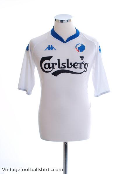 2007-08 FC Copenhagen Home Shirt L