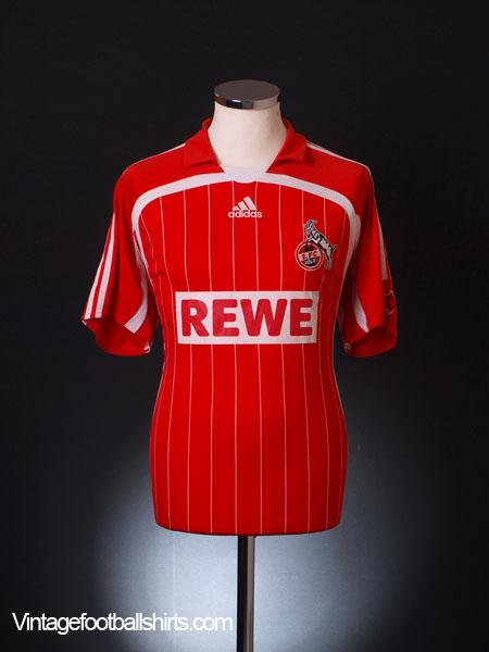 2007-08 FC Koln Home Shirt M