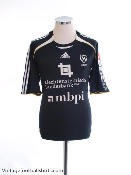 2007-08 FC Vaduz Player Issue Third Shirt #4 L - 072569