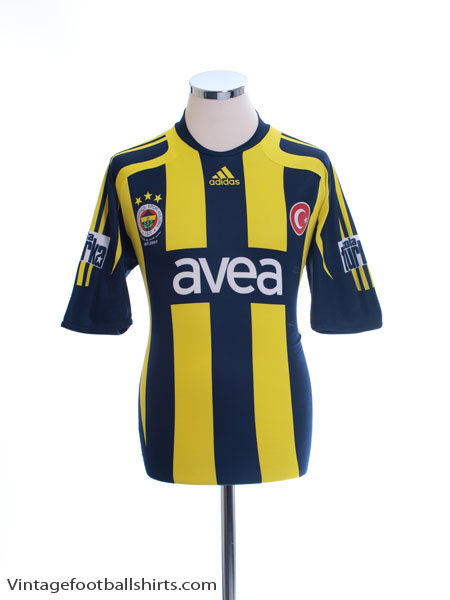 2007-08 Fenerbahce Home Shirt M