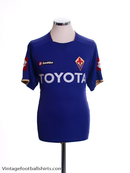 2007-08 Fiorentina Home Shirt M
