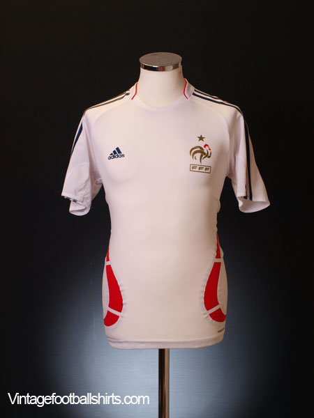 2007-08 France adidas Formotion Training Shirt M