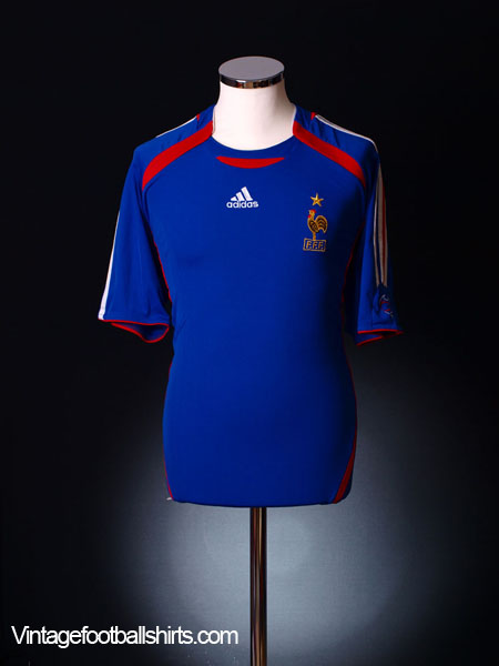 2006-07 France Home Shirt M