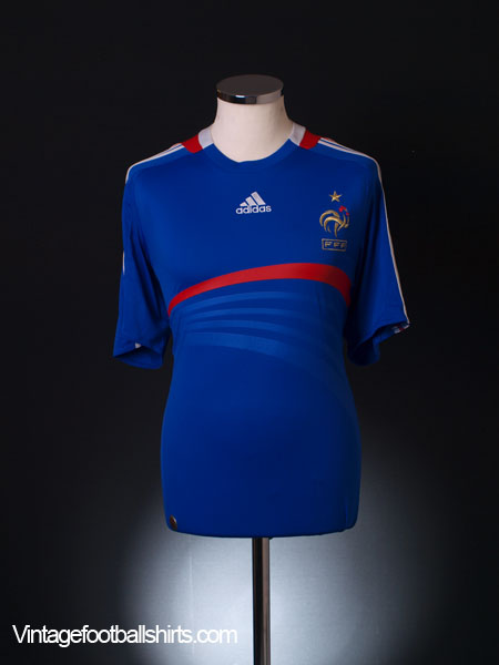 2007-08 France Home Shirt XL