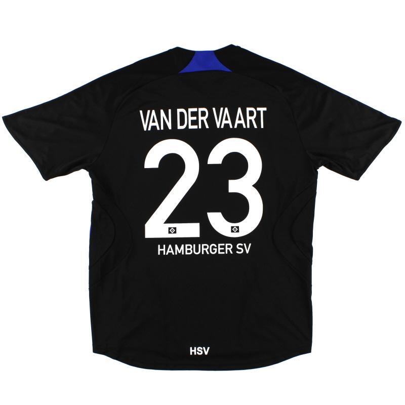 2007-08 Hamburg Away Shirt van der Vaart #23 L - 632746