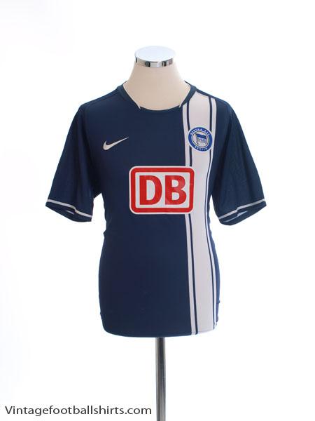 2007-08 Hertha Berlin Home Shirt M - 237860-451