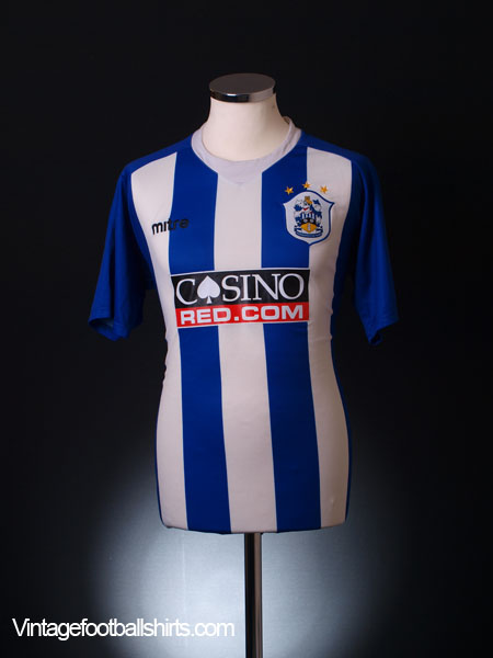 2007-08  Huddersfield Town Home Shirt L