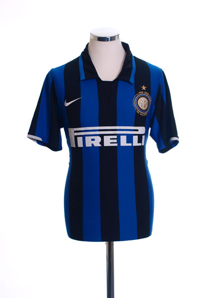 2007-08 Inter Milan Centenary Home Shirt XL
