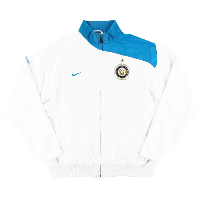 2007-08 Inter Milan Nike Centenary Training Jacket *Mint* XL - 259104-100