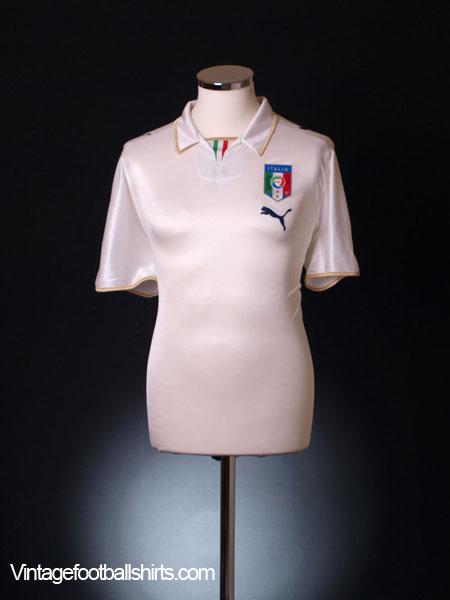 2007-08 Italy Away Shirt M