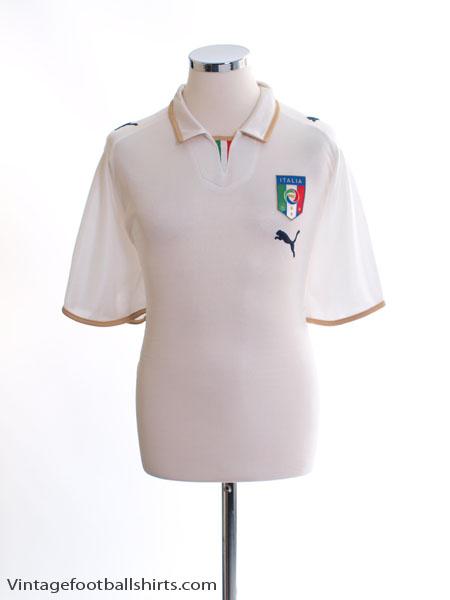 2007-08 Italy Away Shirt L - 733918
