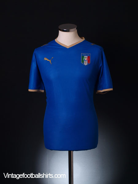 2007-08 Italy Home Shirt L.Boys