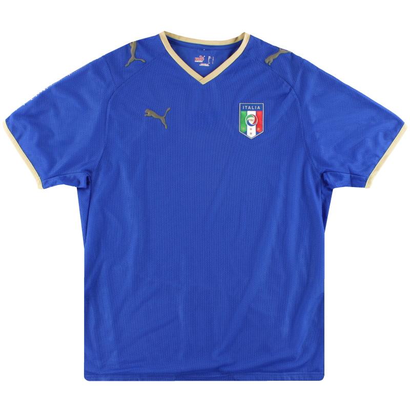 2007-08 Italy Puma Home Shirt S