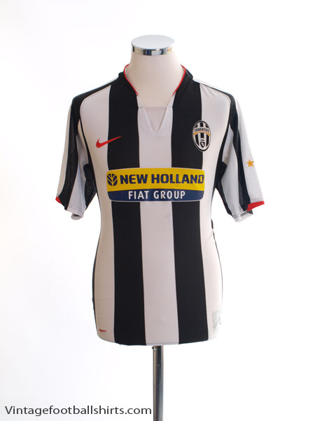 2007-08 Juventus Home Shirt M