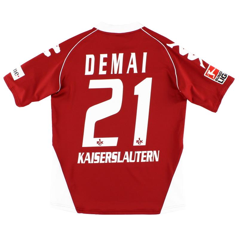 2007-08 Kaiserslautern Home Shirt Demai #21 *Mint* M
