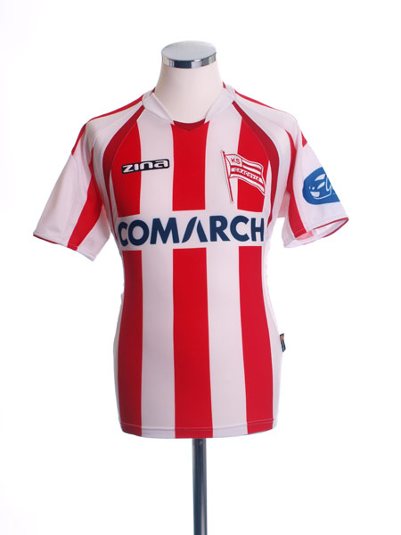 2007-08 KS Cracovia Home Shirt S