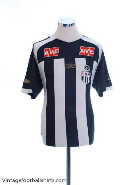 2007-08 LASK Linz Home Shirt L
