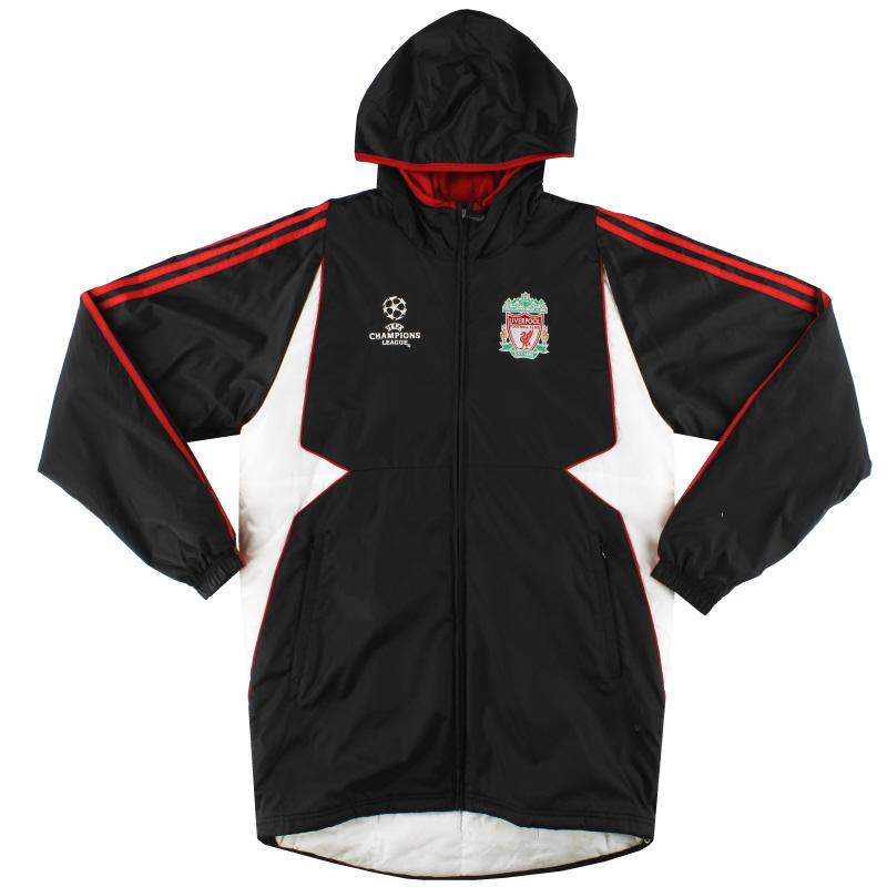 2007-08 Liverpool adidas Champions League Padded Rain Coat S - 689741