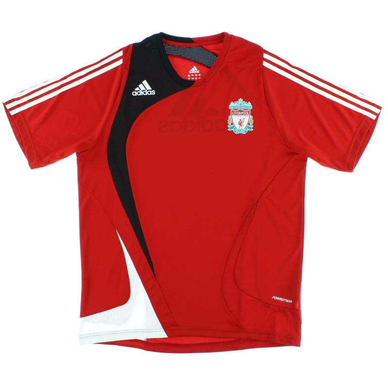 2007-08 Liverpool adidas 'Formotion' Training Shirt L - 657361