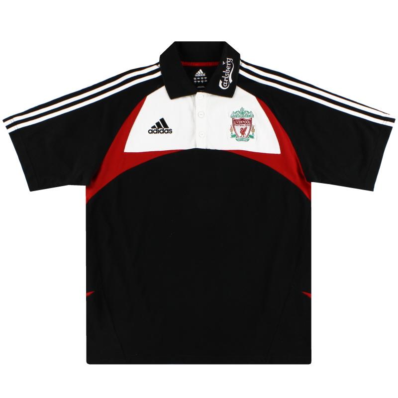 2007-08 Liverpool adidas Polo Shirt L - 685876