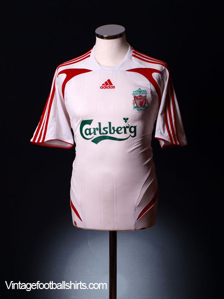 2007-08 Liverpool Away Shirt L/S M