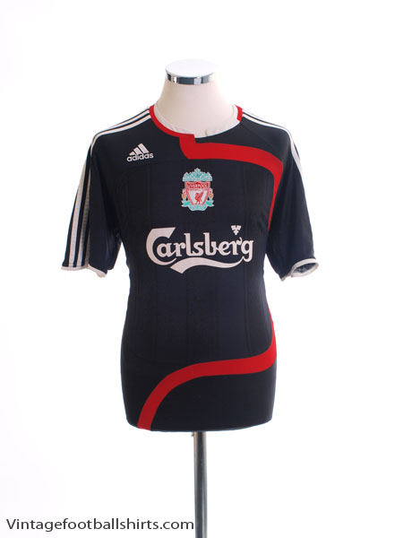 2007-08 Liverpool Third Shirt L - 694387