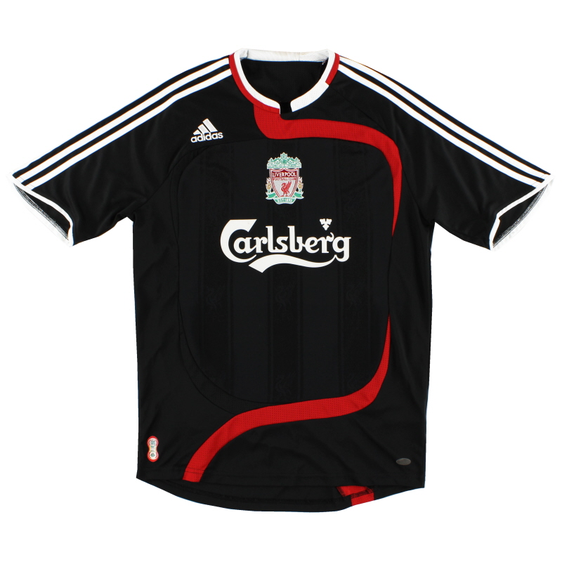 2007-08 Liverpool Third Shirt XS - 694387
