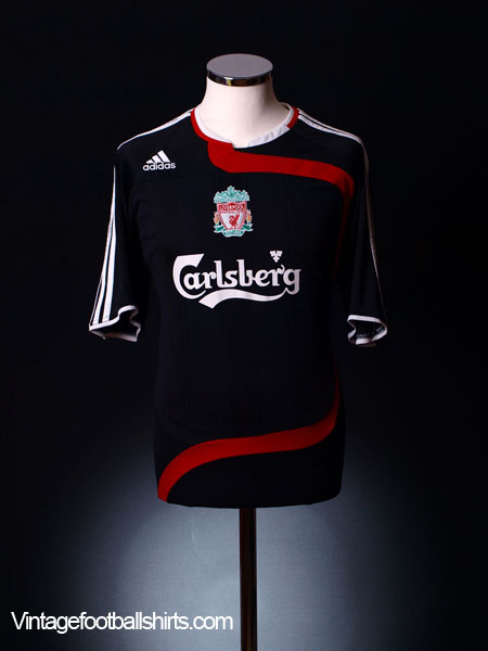 2007-08 Liverpool Third Shirt L