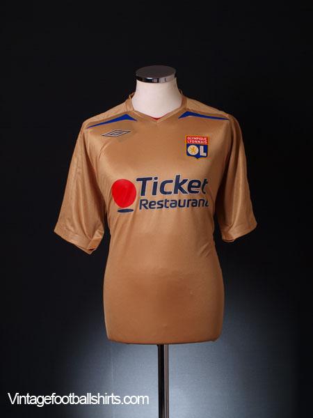 2007-08 Lyon Away Shirt *BNIB*