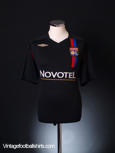 2007-08 Lyon Third Shirt XL