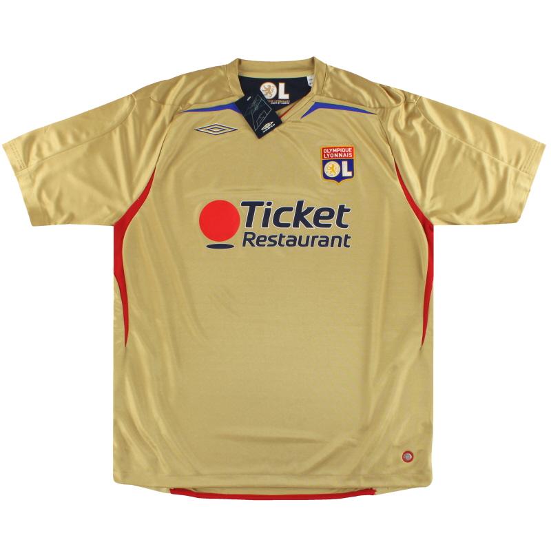2007-08 Lyon Umbro Away Shirt *BNIB* XL - 2210332