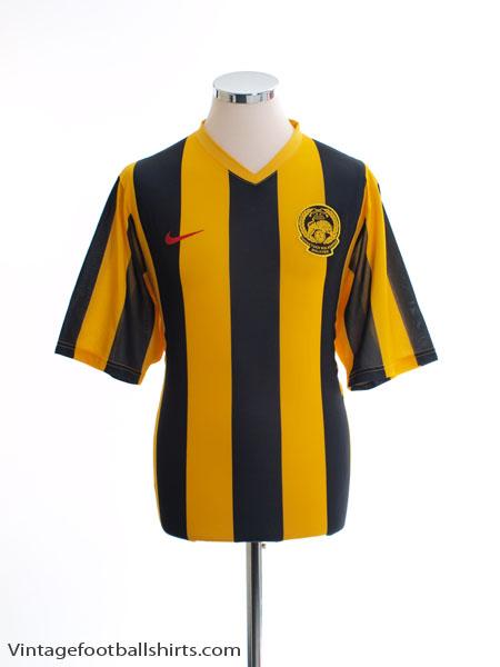 2007-08 Malaysia Home Shirt *Mint* L