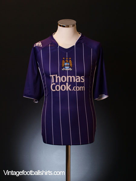 2007-08 Manchester City Away Shirt XL