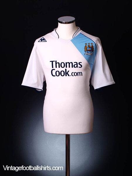 2007-08 Manchester City Third Shirt S