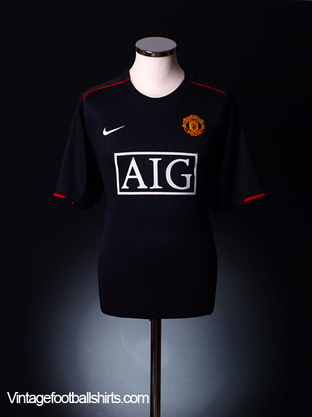 2007-08 Manchester United Away Shirt XL